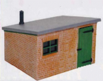 Peco LK-705 Brick Lineside Hut
